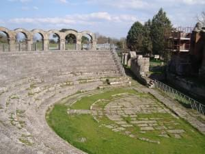 Romeins theater van Ferento