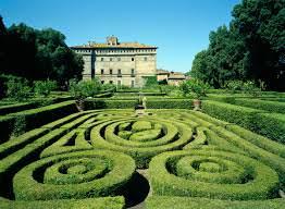 kasteel met tuin